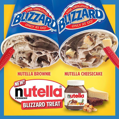 Nutella Blizzard Is Dairy Queen Fans Choice Blizzard Of The Month