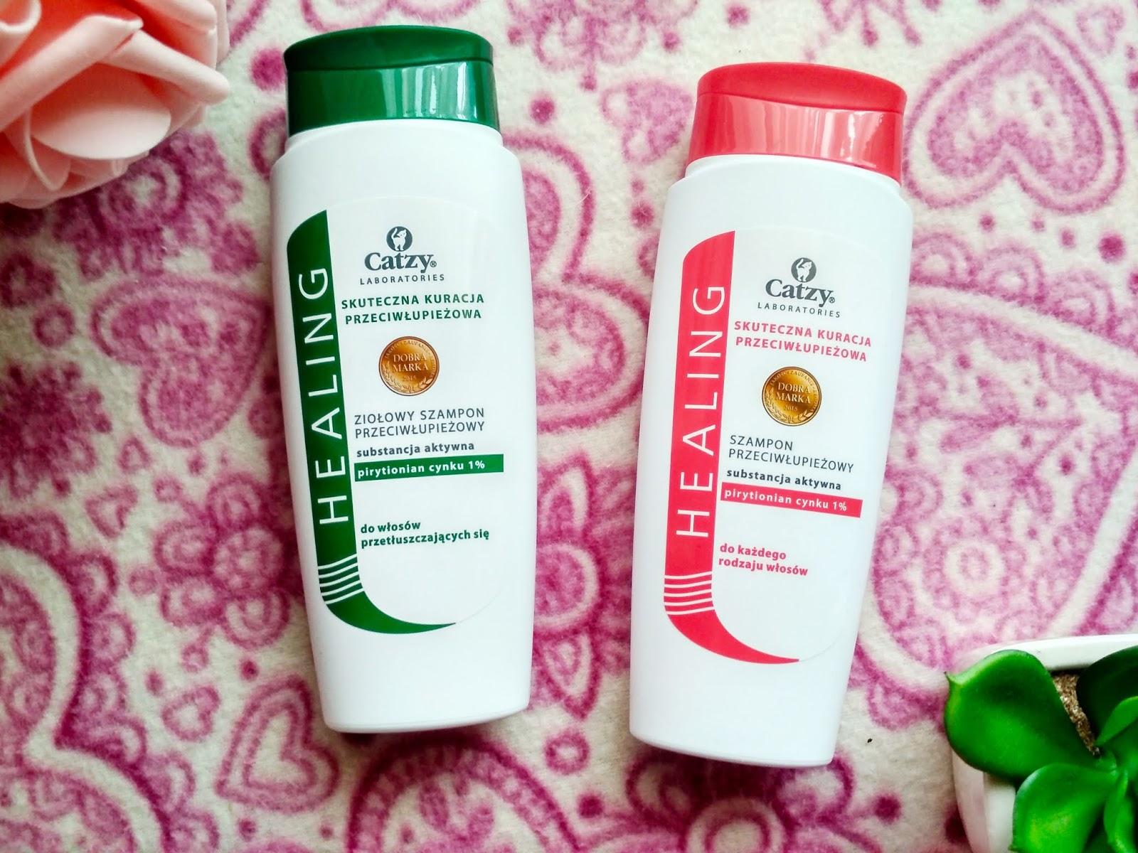 Recenzja - Catzy Healing szampony przeciwłupieżowe
