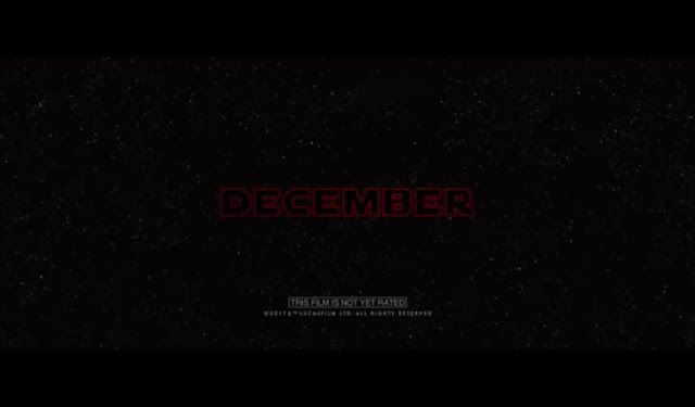 Star Wars: The Last Jedi releasing this December