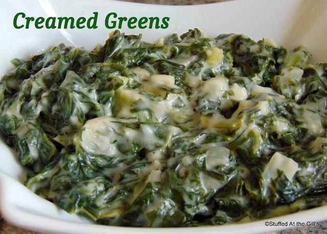 Creamed Greens