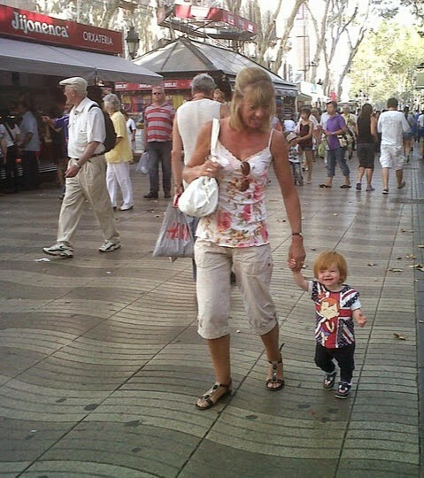 Our Guide to Visiting Spain with Kids  - Las Ramblas Barcelona