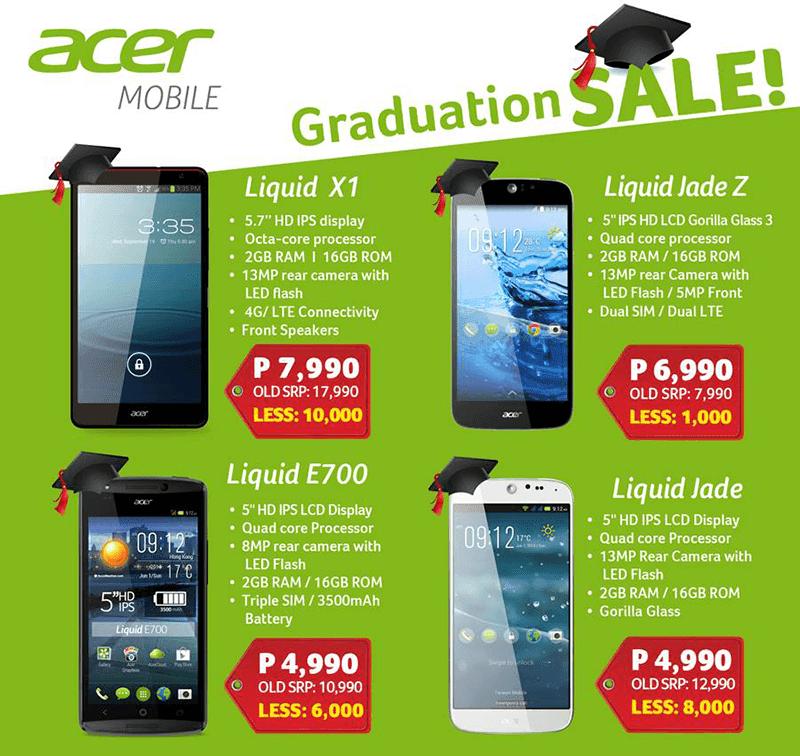 Acer's 2016 graduation sale 2