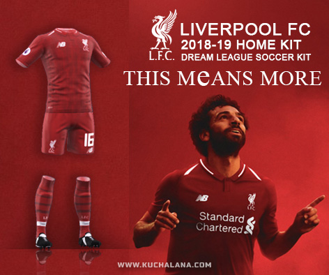 Information Liverpool FC 2018 19 Kit  958a994bf