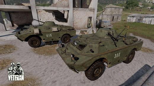 Arma3用Veteran MODのBRDM-2