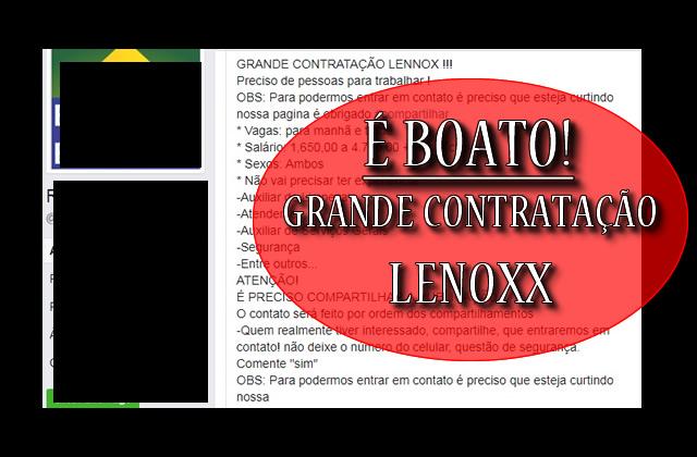 Lenoxx faz grande contratação no Rio de Janeiro