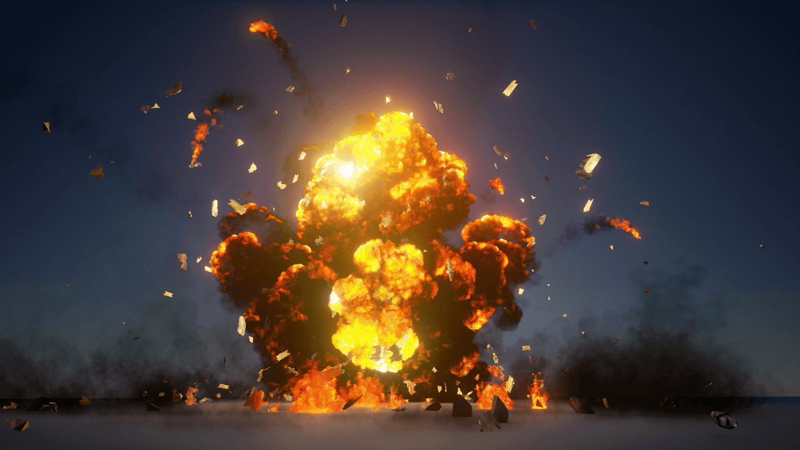 The Explosions Mega Pack for Unreal Engine 4 | Computer Graphics