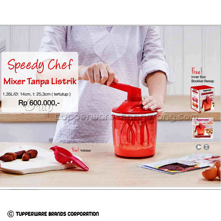 Speedy Chef ~ Katalog Tupperware Promo Juni 2016