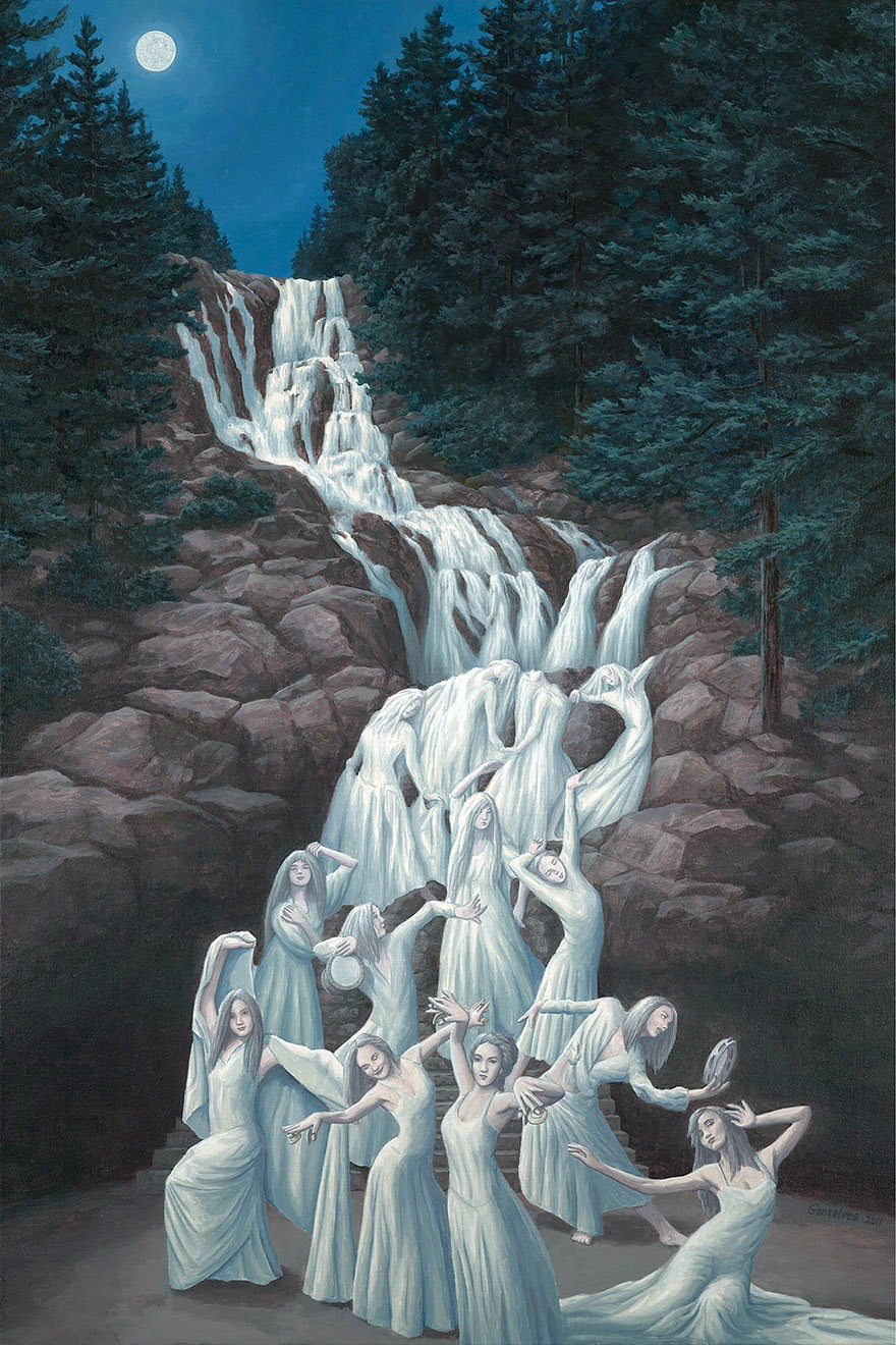 omorfos-kosmos.gr - 25 έργα οφθαλμαπάτης από τον ζωγράφο Robert Gonsalves