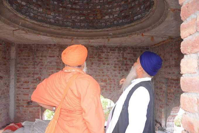 Sant Seechewal invites Sant Society and Nihang organisation to celebrate the Smagam collectively.