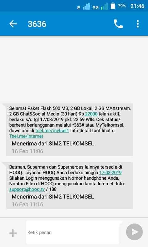 gambar paket internet Telkomsel 6,5 GB 22 ribu