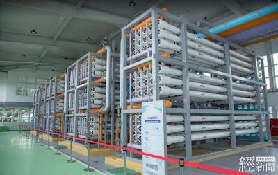 高雄鳳山溪再生水廠107年啟用,每日提供2.5萬噸產業用水