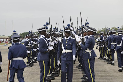 591 Recruits graduate from the Nigerian Air Force Ground training centre (See Photos)