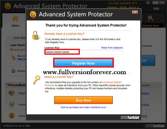 Online dating protector registration