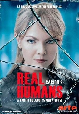 Real Humans - Humanos Reais 2ª Temporada Séries Torrent Download capa