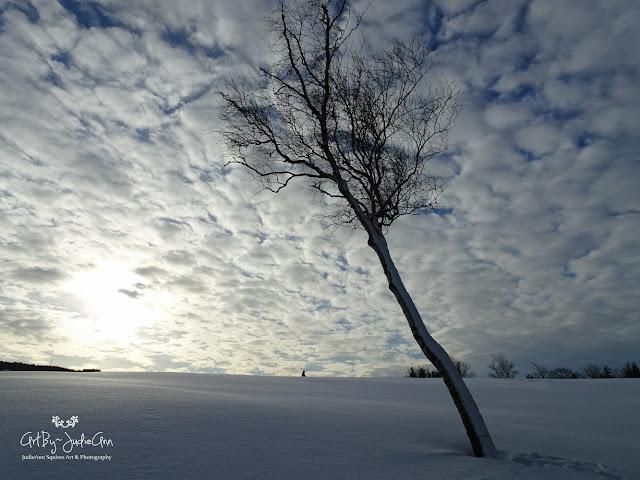 Snow & clouds photp