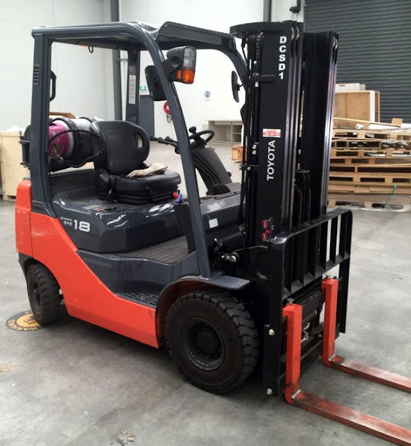 Used Toyota Forklift 8-Series