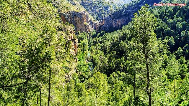 Hoces del río Turia, Sendes i Muntanyes