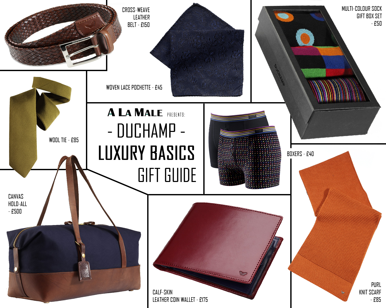 Luxury Xmas Gifts: Luxury Christmas Gift Guide For Men With Duchamp