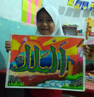 Lomba Menggambar Kaligrafi untuk Anak PAUD