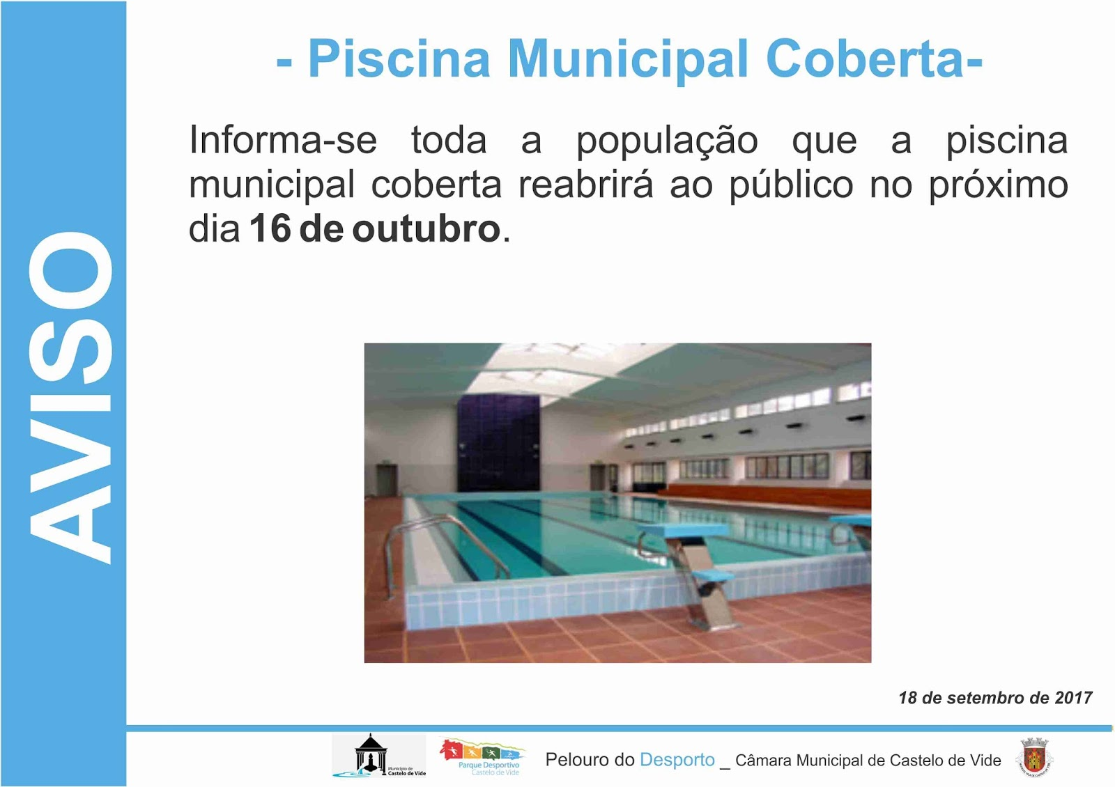 Not cias de castelo de vide for Piscina municipal motril