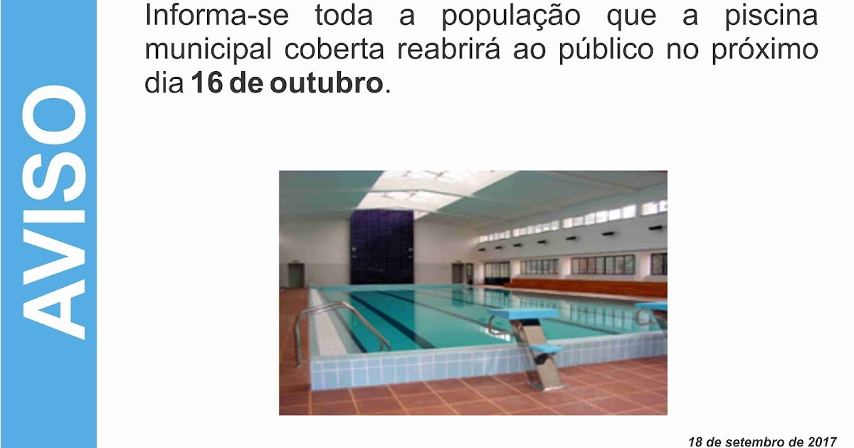 Not cias de castelo de vide piscina municipal coberta for Piscina xirivella horario 2017