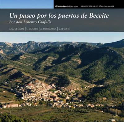 paseo, puertos Beceite, Lorenzo Grafulla,Luis Latorre Albesa, Alberto Moragrega Julián