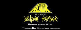 ACUTOR REUNION en Bogotá 2018 Poster 2