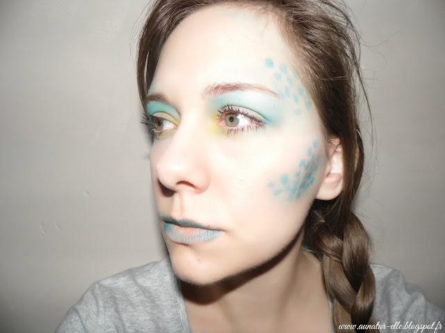 makeup sirène