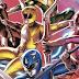Revelada a capa do livro de ilustrações de Power Rangers