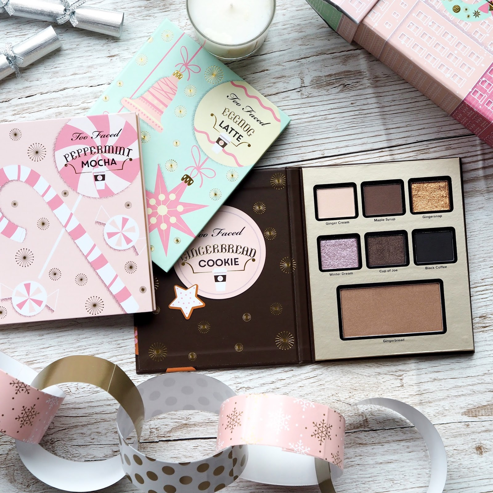 TooFaced Christmas Palettes of Happiness