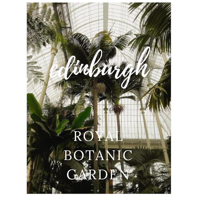 visita al jardín botánico de edimburgo