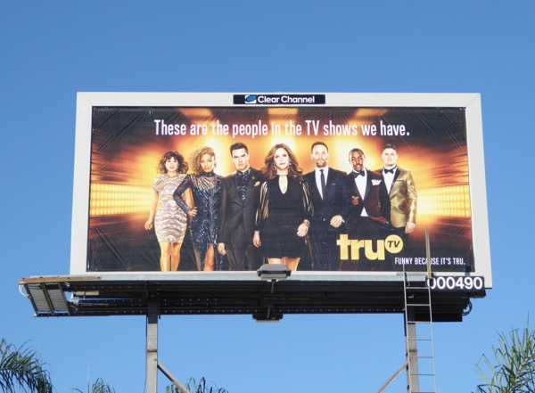 TruTV 2017 rebrand billboard