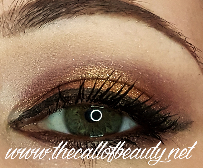Make Up of the Day: Morphe Copper & Brown