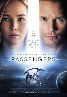 Cartel de Passengers en español