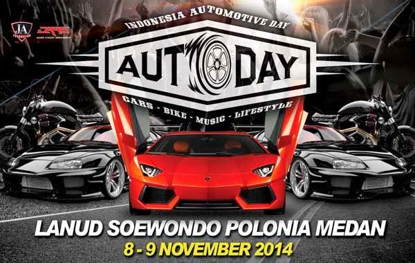 Autoday Indonesia : Lanud Soewondo Polonia Medan 8-9 November 2014