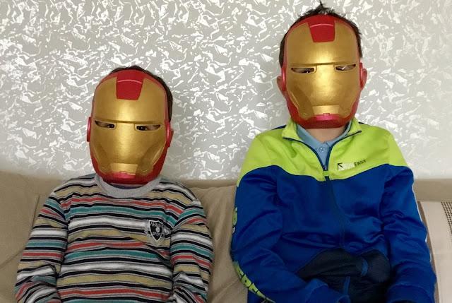 ıron Man maske yapımı