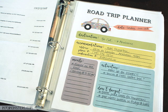 Four Essentials for a Perfect Family Road Trip from my3monsters.com -- It's not what you might expect!