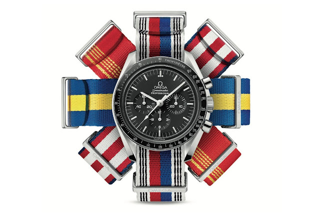 OMEGA NATO STRAPS OLYMPIC