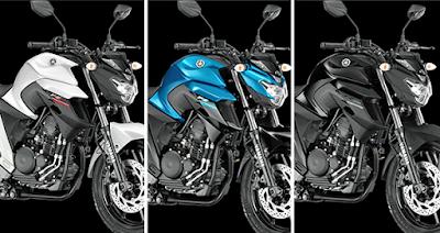 2017 Yamaha FZ25 all Colours pics
