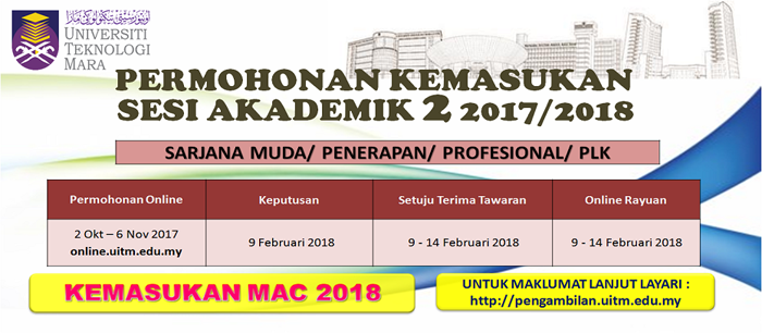 The Edvisor Malaysia Permohonan Kemasukan Ke Program Ijazah Sarjana Muda Bachelor Degree Universiti Awam Ua Sesi 2 2017 2018