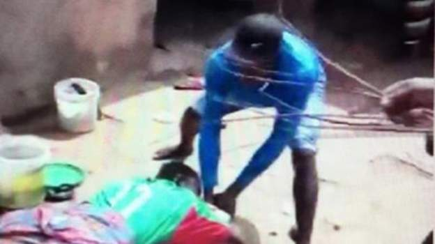 Ghana outrage over flogging of girl