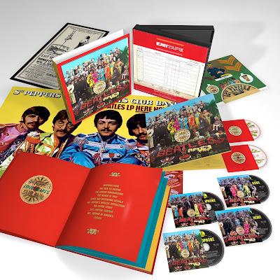 """The Beatles Polska: """"Pięćdziesiąt"""" płyt na pięćdziesięciolecie Pieprza - Amazon już przyjmuje zmówienia"""