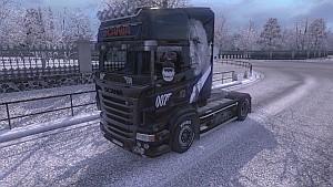 Bond 007 V8 skin for RJL truck