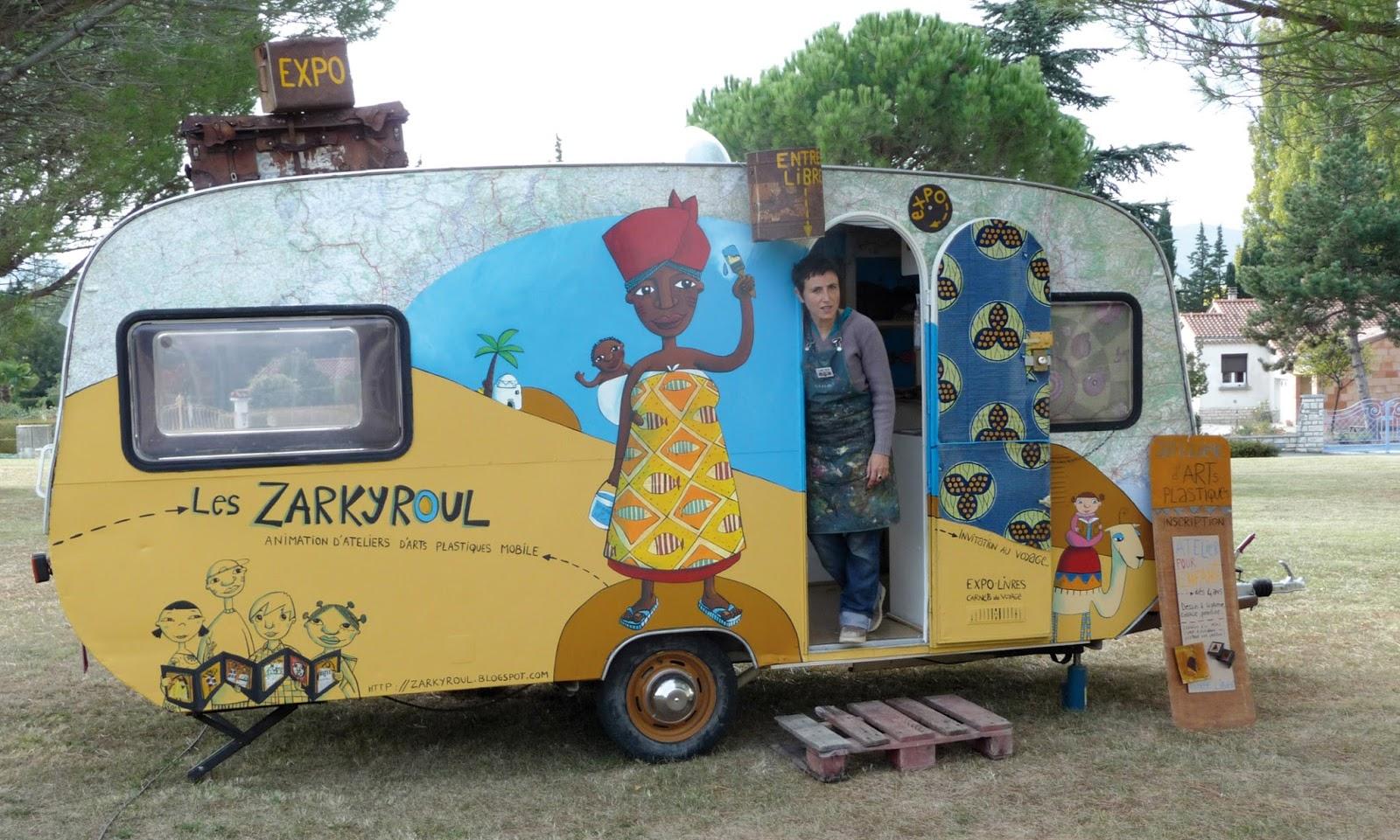 Caravane Decoree ~ Francedesign.co