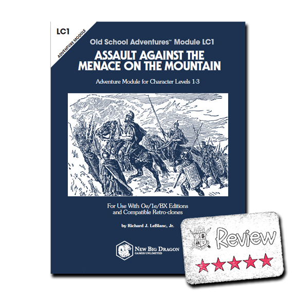 Frugal GM Review: Assault Against the Menace on the Mountain