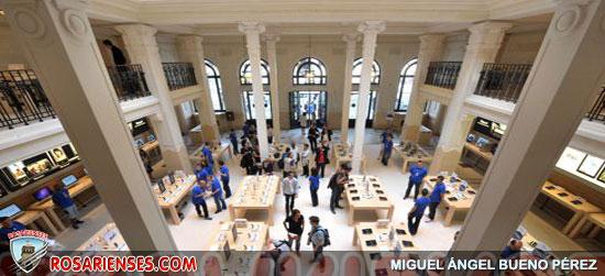 L'Apple Store du quartier de l'Opéra à Paris braqué | Rosarienses, Villa del Rosario