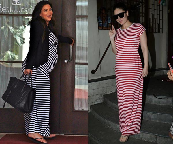 Is Kareena Kapoor's Pregnancy Style Inspired By Kim Kardashian?