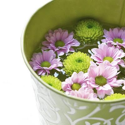 seau-metal-rempli-eau-fleurs-vertes-violettes