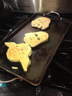 Star Wars healthy-ish pancakes
