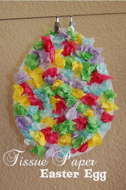 húsvéti dekorációs ötlet gyerekekkel